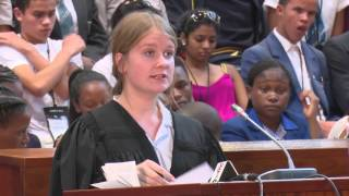 Download Finals of the 2015 National Schools Moot Court Competition Video