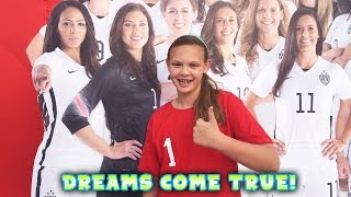 Download Dreams Come True - Hope Solo - Major Fan Moment Video