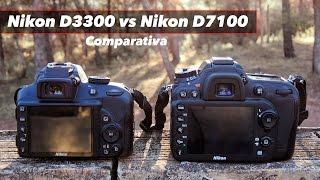 Download Nikon D3300 vs D7100 - Comparativa en Español Video