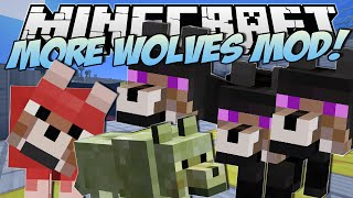 Download Minecraft | MORE WOLVES MOD! (Three Headed Wolf?!) | Mod Showcase Video