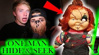 Download (Chucky) ONE MAN HIDE AND SEEK // 3 AM CHALLENGE Video
