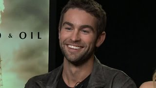 Download EXCLUSIVE: Chace Crawford Spills on Reuniting With His 'Gossip Girl' Co-Star Ed Westwick! Video