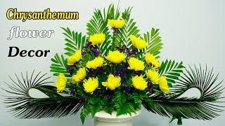 Download Limonium sinuatum ,Chrysanthemum Flower Arrangement for Altar,168 Video