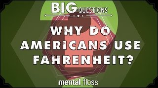 Download Why do Americans use Fahrenheit? - Big Questions - (Ep. 37) Video