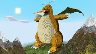 Download Minecraft vs Pokemon go | GIGA DRAGONITE!! | (PvZ/Pokego Land) Video