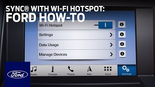 Download SYNC® Connect with Wi-Fi Hotspot Overview | SYNC 3 How-To | Ford Video