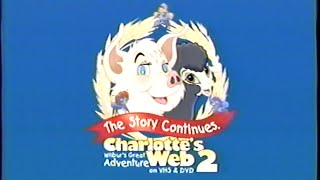 Download Charlotte's Web 2 - Wilbur's Great Adventure (2003) Trailer (VHS Capture) Video