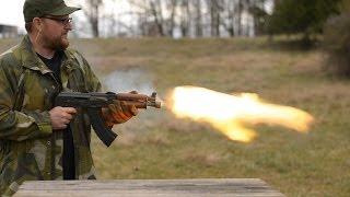 Download In Memory Of Kalashnikov: 700 Round AK Burn Video