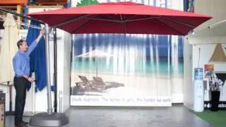 Download The Savannah - Cantilever Patio Umbrella Video