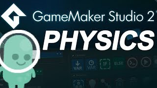 Download Game maker studio 2 drag and drop: physics collision ( no coding ) Video