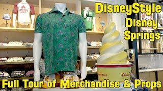 Download DisneyStyle New Themed Shop at Disney Springs FULL Detailed Tour with Merchandise & Props Video