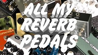 Download ALL my reverb pedals Video