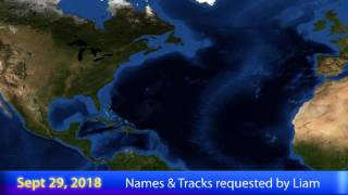 Download Hypothetical Hurricane Season #66 - 2018 Video