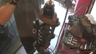 Download Replacing Front and Rear Coil Springs: Part 1 [2002 Mitsubishi Lancer] Video