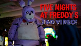 Download Five Night's At Freddy's in Real Life! 360 VIDEO - SCARY! Video