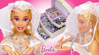 Download Giant Barbie Doll Wedding Makeover 👰🏼 Eyeshadow Lipstick, Nail Polish and Jewelry for Styling Head Video