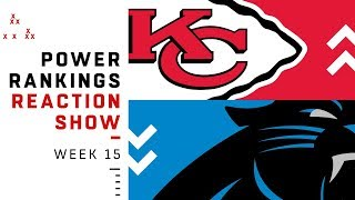 Download NFL Power Rankings Week 15 Reaction Show: Steelers Out of Top 10 | NFL Video