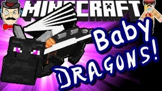 Download Minecraft BABY ENDER DRAGONS! Hatch & Fly! Video