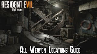Download Resident Evil 7 - All Weapon Locations Guide! Video