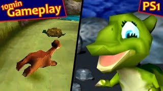 Download The Land Before Time: Great Valley Racing Adventure ... (PS1) 60fps Video