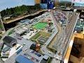 Download 「あぶさんのNゲージジオラマルーム」 ジオラマ JR貨物 コンテナ ターミナル 高松駅 EF210(桃太郎) EF65 走行シーン Video