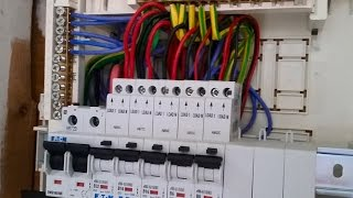 Download Single Phase Distribution Board Wiring Diagram Explanation In Urdu & Hindi Video