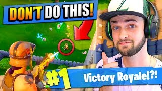 Download How to AVOID DEATH in Fortnite: Battle Royale! Video