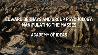 Download Edward Bernays and Group Psychology: Manipulating the Masses Video