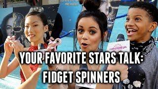 Download JENNA ORTEGA & LONNIE CHAVIS' CRAZY Uses for FIDGET SPINNERS! Video