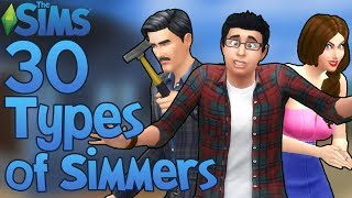 Download The Sims: 30 Types of The Sims Players! Video