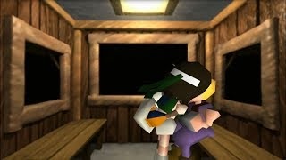 Download Final Fantasy VII (PS4) Cloud And Yuffie Go On A ″Good″ Date HD 720p 60fps Video