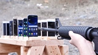 Download Which Phone is More Bulletproof? Samsung Galaxy vs iPhone Video