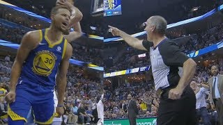 Download Stephen Curry, Kevin Durant Ejected! Marc Gasol 34 Pts 14 Rebs! Warriors vs Grizzlies 2017-18 Season Video