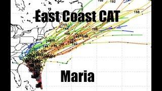 Download NEW - Hurricane Maria - Models leaning LEFT - East Coast Advisory Video