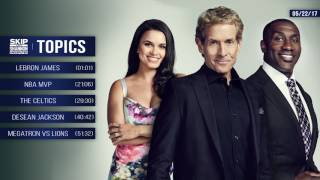 Download UNDISPUTED Audio Podcast (5.22.17) with Skip Bayless, Shannon Sharpe, Joy Taylor   UNDISPUTED Video