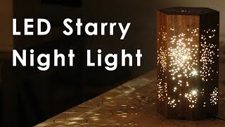 Download Making an LED Night Light w/ Star Pattern Video
