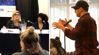 Download UNDERCOVER: SJW Fat-Pride Feminist Panel Crashed By Crowder! Video