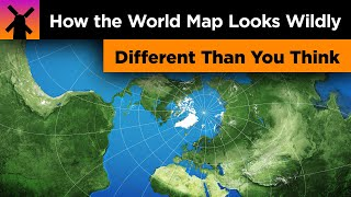 Download How the World Map Looks Wildly Different Than You Think Video