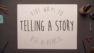 Download Five Ways to Use a Pencil - Telling a Story Video
