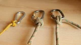 Download Узлы для привязывания верёвки к карабину. Узлы в арбористике Video