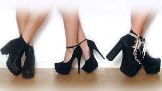 Download ♡ My shoe collection | UNIF Jeffrey Campbell NLY & more ♡ Video