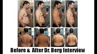 Download Ketosis & Intermittent Fasting Before-After: Dr. Berg Skype with Joe Busuttil Video