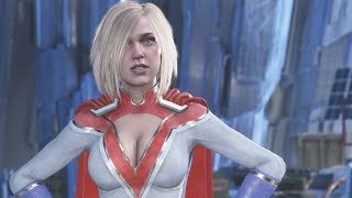 Download Injustice 2 - Power Girl vs Supergirl Dialogue Video
