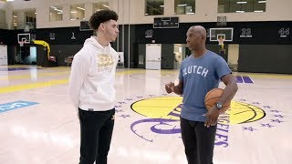Download Lonzo Ball interview with Chauncey Billups at Lakers' facility | ESPN Video