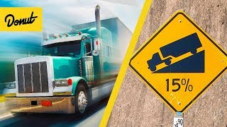 Download ENGINE BRAKING | How Semi Trucks Slow Down Without Brakes | SCIENCE GARAGE Video