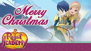 Download Regal Academy | A fairy-tale Christmas… on the snow! Video