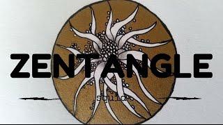 Download ZENTANGLE PATTERNS FOR BEGINNERS #5 | Squid Video