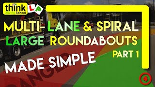Download Multilane Roundabout Driving Lesson from Think Driving School, Filmed in Basingstoke Video