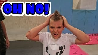 Download KID DOES INSANE TRICKS AT TRAMPOLINE PARK? Video