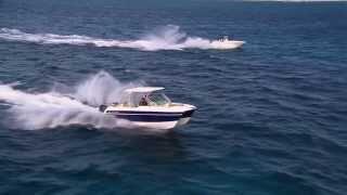 Download Glacier Bay 2740 running in 3-5' seas Video